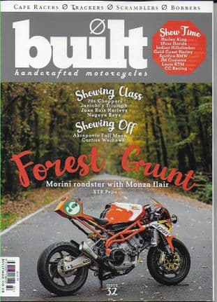 Built Magazine - Issue 32 (Cafe Racers/Trackers/Scramblers/Bobbers)
