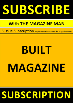 Built Magazine - Subscription - 4 issues