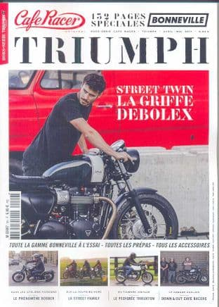 Cafe Racer FRENCH Magazine - Cafe Racer Triumph