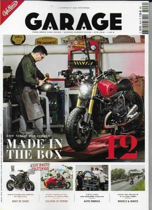 Cafe Racer FRENCH Magazine - Garage No.12 (BMW NINE-T)