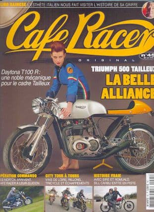 Cafe Racer FRENCH Magazine - No.045