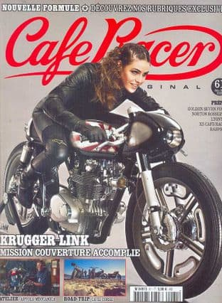 Cafe Racer FRENCH Magazine - No.061