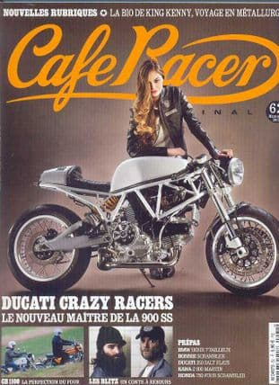 Cafe Racer FRENCH Magazine - No.062