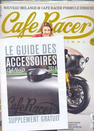 Cafe Racer FRENCH Magazine - No.068
