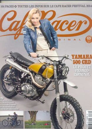 Cafe Racer FRENCH Magazine - No.069