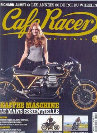 Cafe Racer FRENCH Magazine - No.071