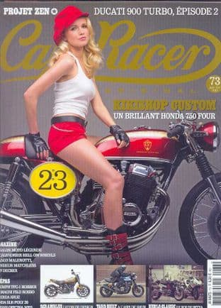 Cafe Racer FRENCH Magazine - No.073