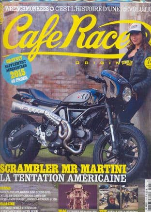 Cafe Racer FRENCH Magazine - No.074