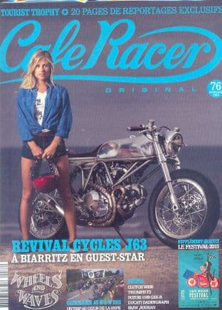 Cafe Racer FRENCH Magazine - No.076
