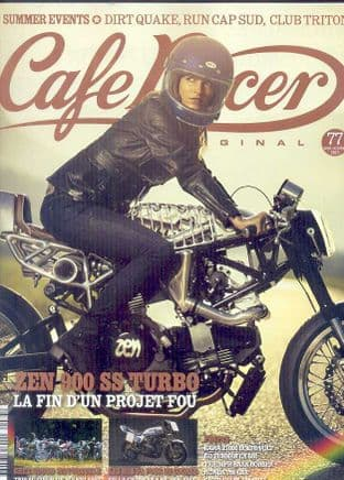 Cafe Racer FRENCH Magazine - No.077