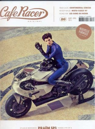 Cafe Racer FRENCH Magazine - No.080