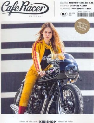 Cafe Racer FRENCH Magazine - No.081