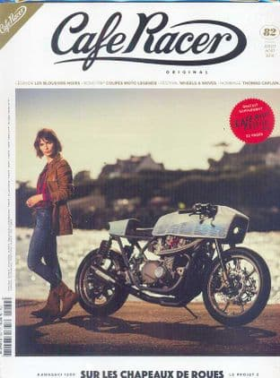Cafe Racer FRENCH Magazine - No.082