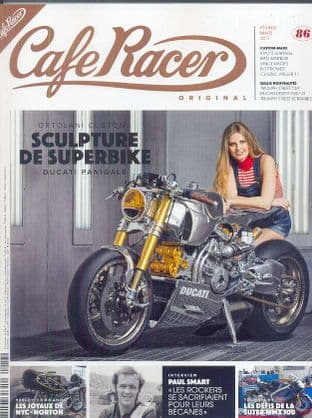 Cafe Racer FRENCH Magazine - No.086