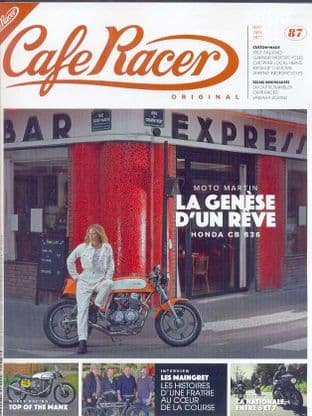 Cafe Racer FRENCH Magazine - No.087