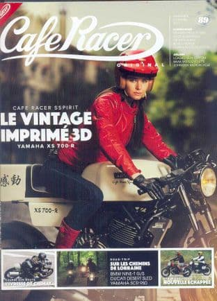 Cafe Racer FRENCH Magazine - No.089