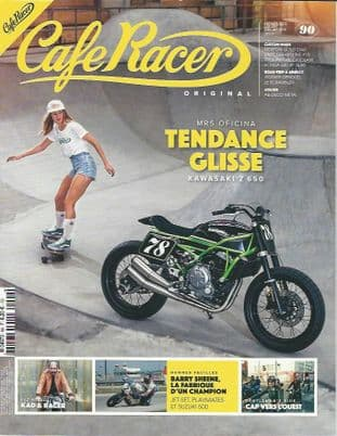Cafe Racer FRENCH Magazine - No.090
