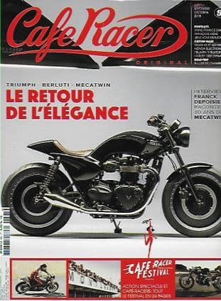 Cafe Racer FRENCH Magazine - No.095