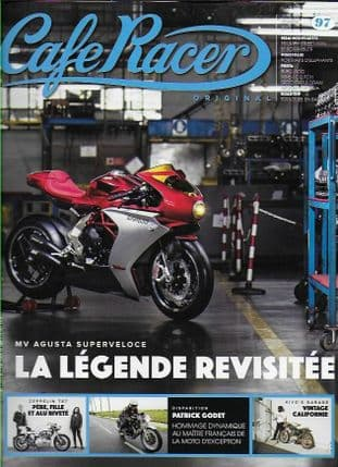 Cafe Racer FRENCH Magazine - No.097