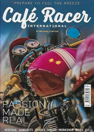 Cafe Racer International Bookazine - No.1 / 2020 (Heritage/Hangouts/Heroes/Builds/Rides/Kit/Workshop