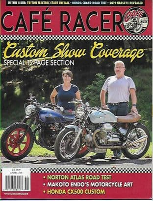 Cafe Racer USA Magazine Discounted Set - 5 Issues Nos.55-59 inclusive