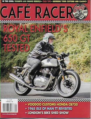 Cafe Racer USA Magazine Discounted Set -  Any 10 Issues