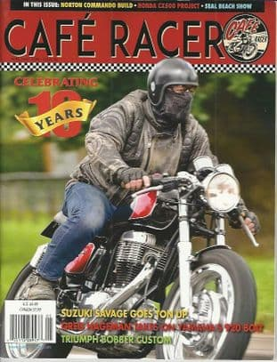 Cafe Racer USA Magazine - No.56 A/May 2018 Issue