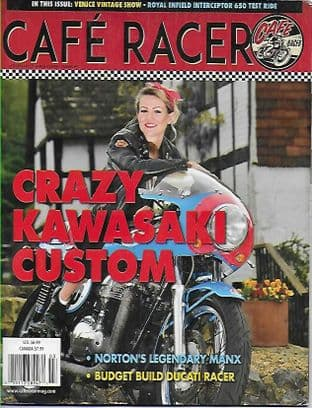 Cafe Racer USA Magazine - No.61 F/March 2019 Issue