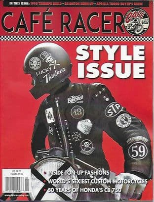 Cafe Racer USA Magazine - No.62 A/May 2019 Issue