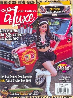 Car Kulture Deluxe Magazine - Issue 060 / October 2013
