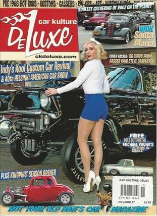 Car Kulture Deluxe Magazine - Issue 085 / December 2017