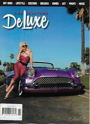 Car Kulture Deluxe Magazine - Issue 107 - J/August 2021