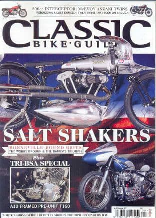 Classic Bike Guide Magazine - No.269 September 2013
