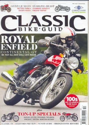 Classic Bike Guide Magazine - No.270 October 2013