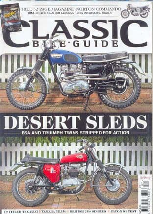 Classic Bike Guide Magazine - No.279 July 2014