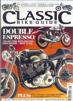Classic Bike Guide Magazine - No.280 August 2014