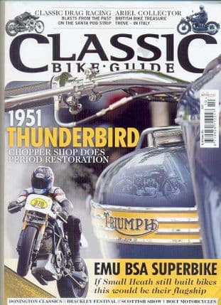 Classic Bike Guide Magazine - No.282 October 2014