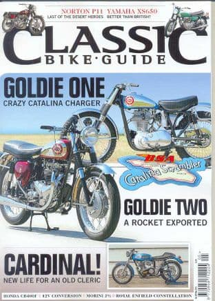 Classic Bike Guide Magazine - No.289 May 2015
