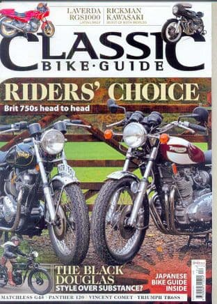 Classic Bike Guide Magazine - No.296 December 2015