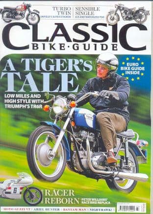 Classic Bike Guide Magazine - No.299 March 2016