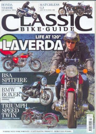 Classic Bike Guide Magazine - No.303 July 2016
