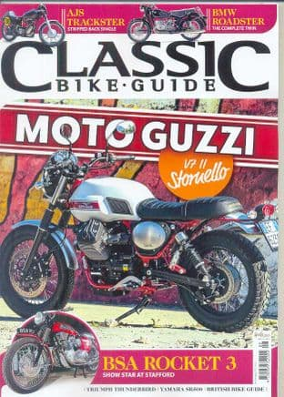 Classic Bike Guide Magazine - No.304 August 2016