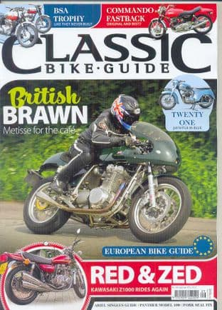 Classic Bike Guide Magazine - No.305 September 2016