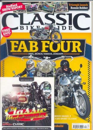 Classic Bike Guide Magazine - No.308 December 2016