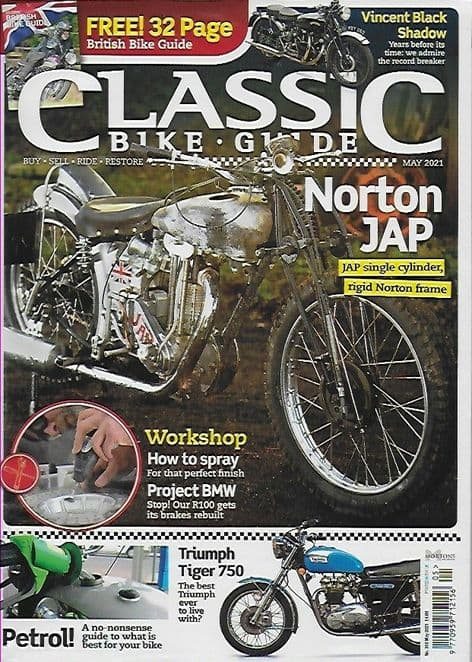 Classic Bike Guide Magazine - No.360  May 2021