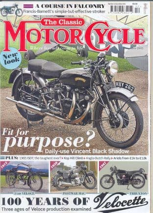 Classic Motorcycle Magazine - 2013-12 December 2013
