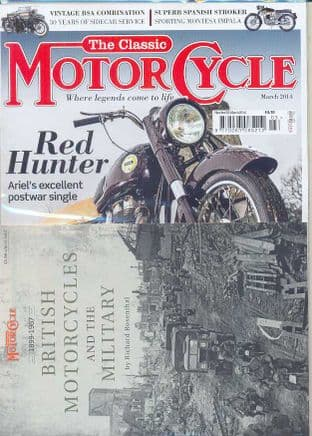 Classic Motorcycle Magazine - 2014-03 March 2014