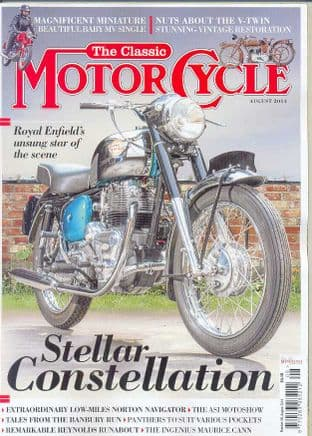 Classic Motorcycle Magazine - 2014-08 August 2014