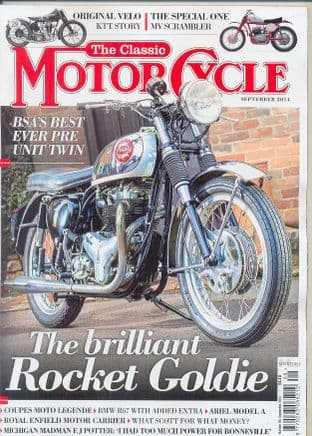Classic Motorcycle Magazine - 2014-09 September 2014