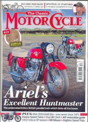 Classic Motorcycle Magazine - 2014-12 December 2014
